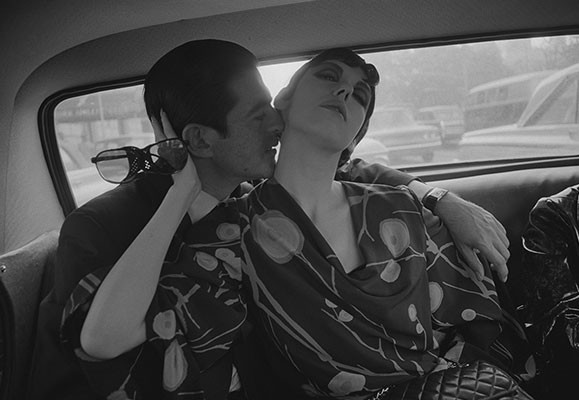 Irving Blum and Peggy Moffitt 1964