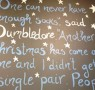 A chalking good Christmas!