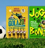 We're football (book) crazy, we're football (book) mad...