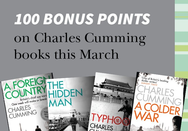 100 bonus points on all paperbacks by Kazuo Ishiguro