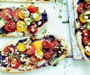 Recipe: Tomato, feta and tapenade 'focaccia'