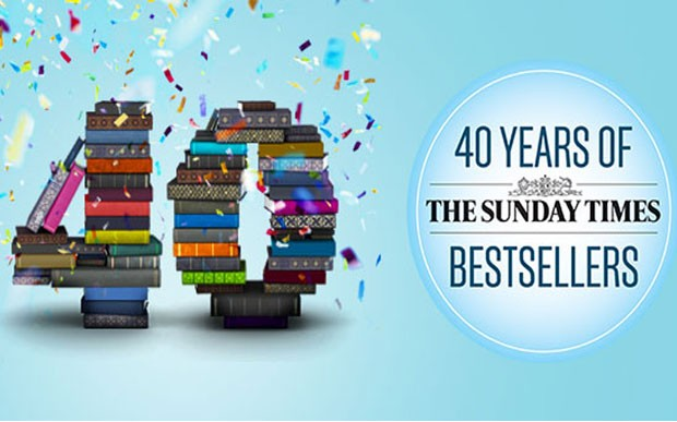 40 years of The Sunday Times bestsellers