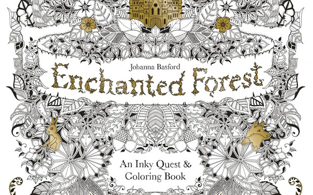 Secret Garden Coloring Book Waterstones Children S Of The Month Enchanted Forest