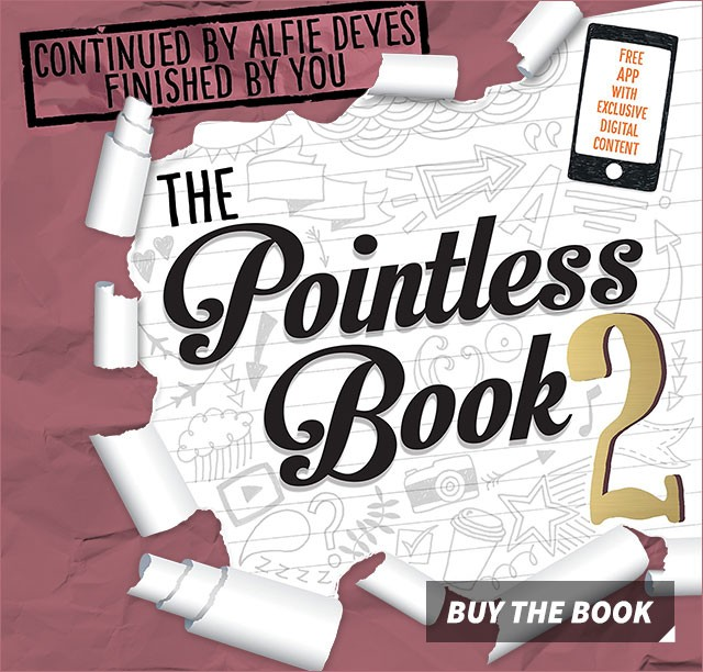The Pointless Book 2 - continued by Alfie Deyes finished by you