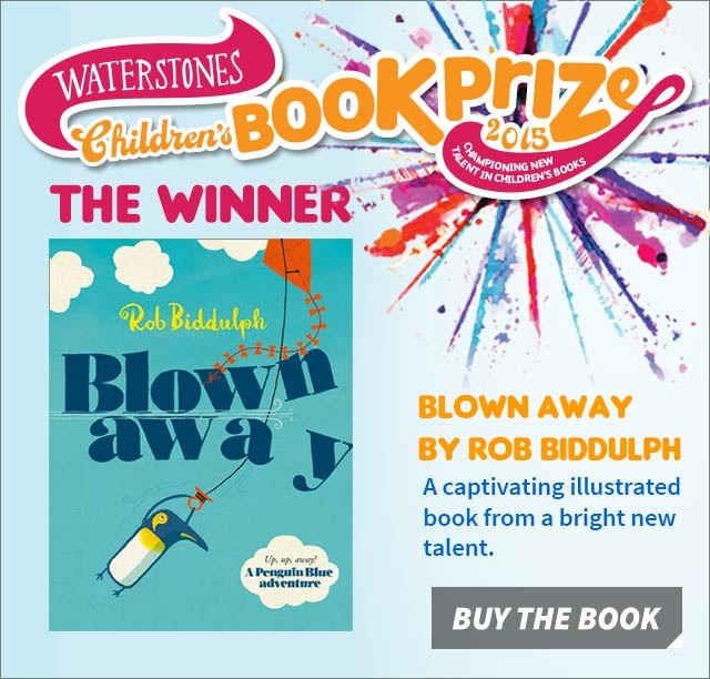 Blown Away - the Waterstones Children's Book Prize 2015 winner