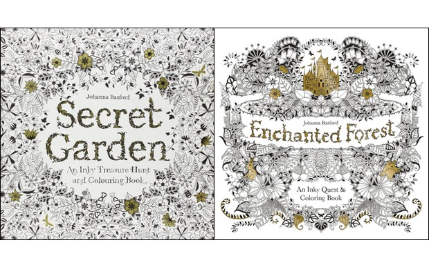 By Chance I Started Colouring My Copy Of The Secret Garden Just Before Going To Bed Do You Know What Happened Slept Better That Night Than Had In