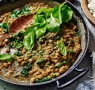Recipe: Chickpea and lentil dhal with coconut cauliflower rice