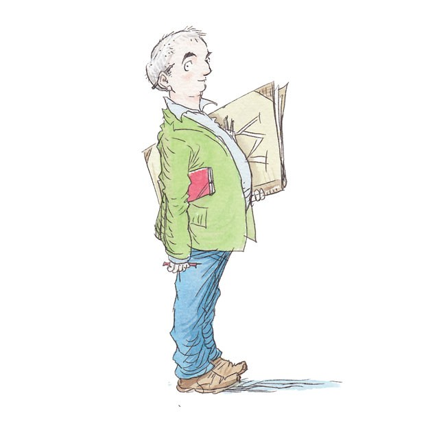 Waterstones Children's Laureate Chris Riddell
