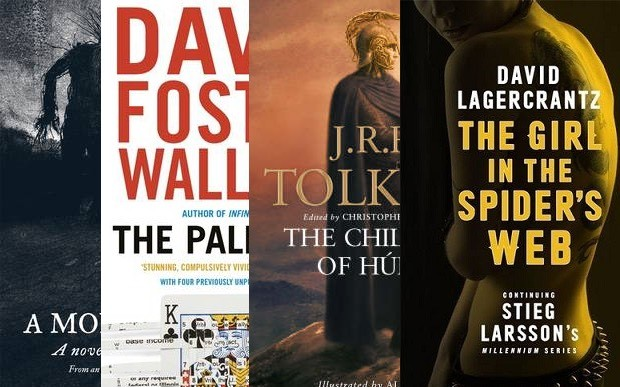 Six books posthumously finished by others