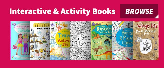 Interactive & Activity books for children