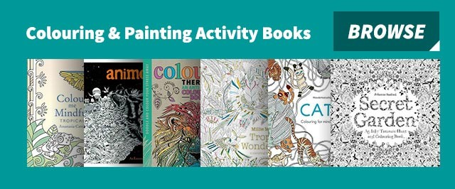 Colouring & painting activity books