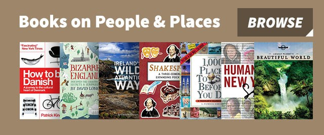 Books on people and places