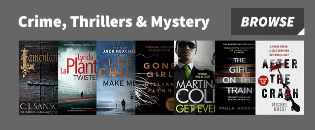 Crime, thrillers and mystery