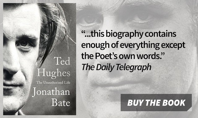 Ted Hughes: The Unauthorised Life by Jonathan Bates
