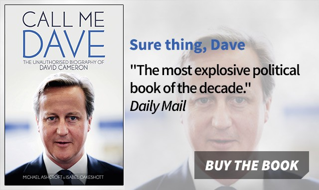 Call Me Dave  by Michael Ashcroft and Isabel Oakshot