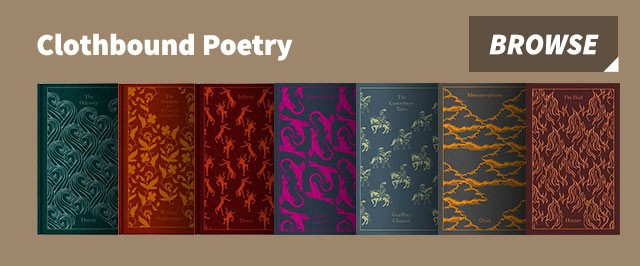 Clothbound poetry