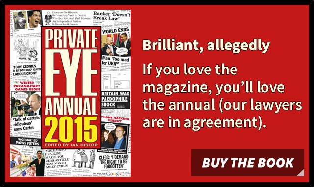 The Private Eye Annual
