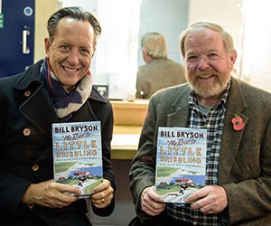 VIDEO: Bill Bryson in Conversation with Richard E. Grant