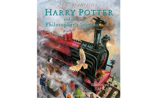 The Illustrated Harry Potter and the Philosopher's Stone