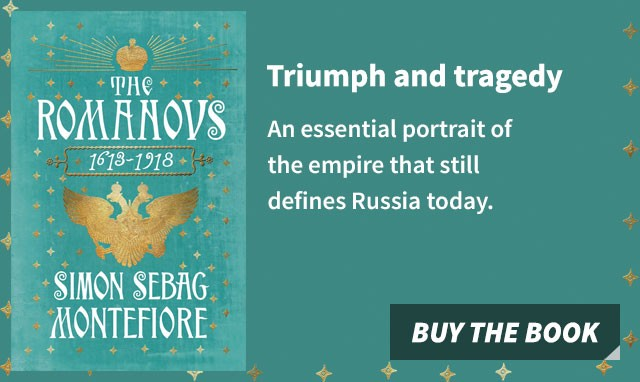 The Romanovs by Simon Sebag Montefiore