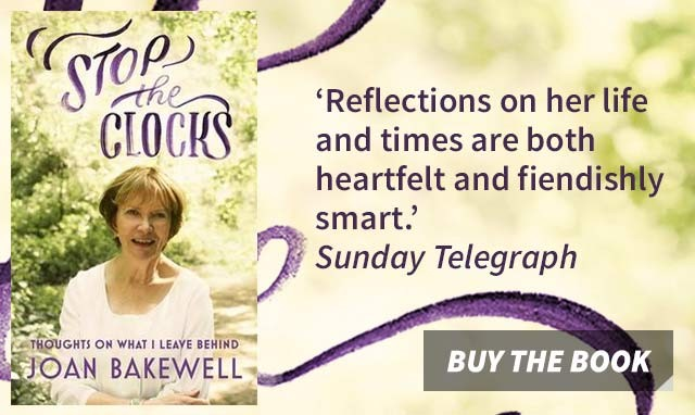 Stop the Clocks by Joan Bakewell