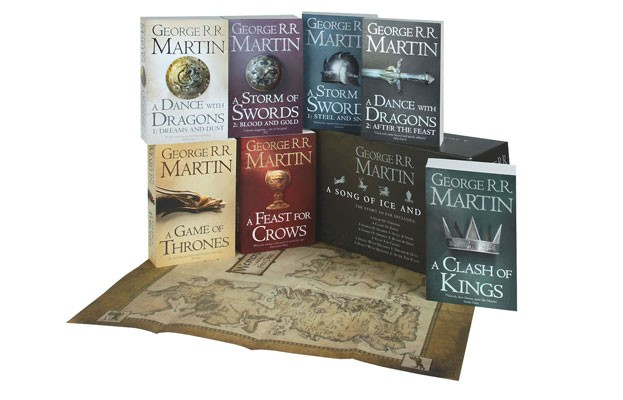 A Game of Thrones Box Set: The Complete Collection of all 7 Books