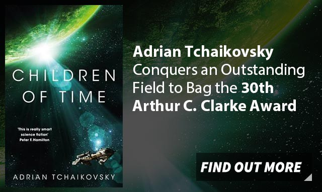 Adrian Tchaikovsky Conquers an Outstanding Field to Bag the 30th Arthur C. Clarke Award