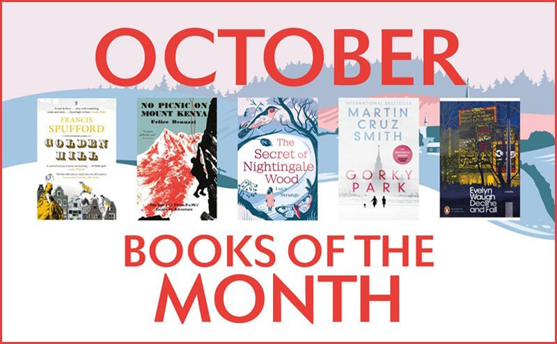 October Books of the Month