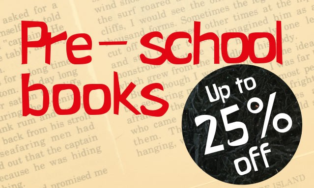 Up to 25% Off Thousands of Books for Pre-School Children