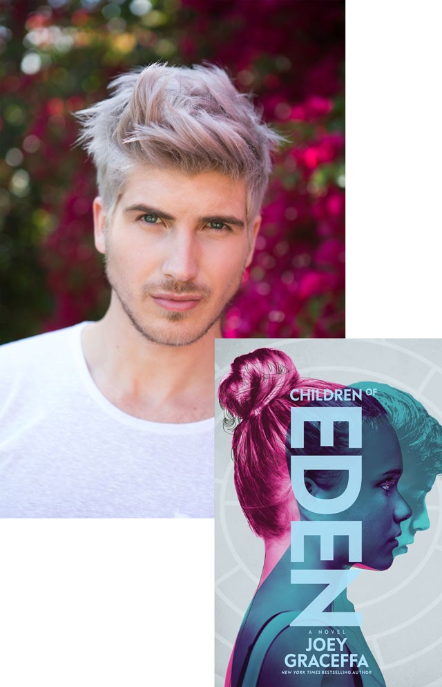 Meet joey graceffa on his children of eden book tour waterstones terms and conditions m4hsunfo