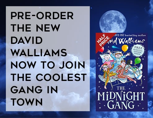 Pre-Order the New David Walliams Now to Join the Coolest Gang in Town