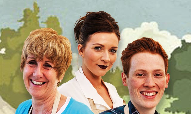 The Great British Bake Off 2016 Finalists