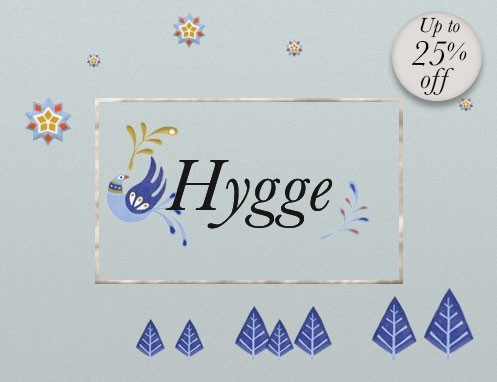 Hygge: Books on Danish Comfort