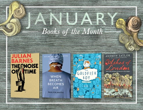 January Books of the Month