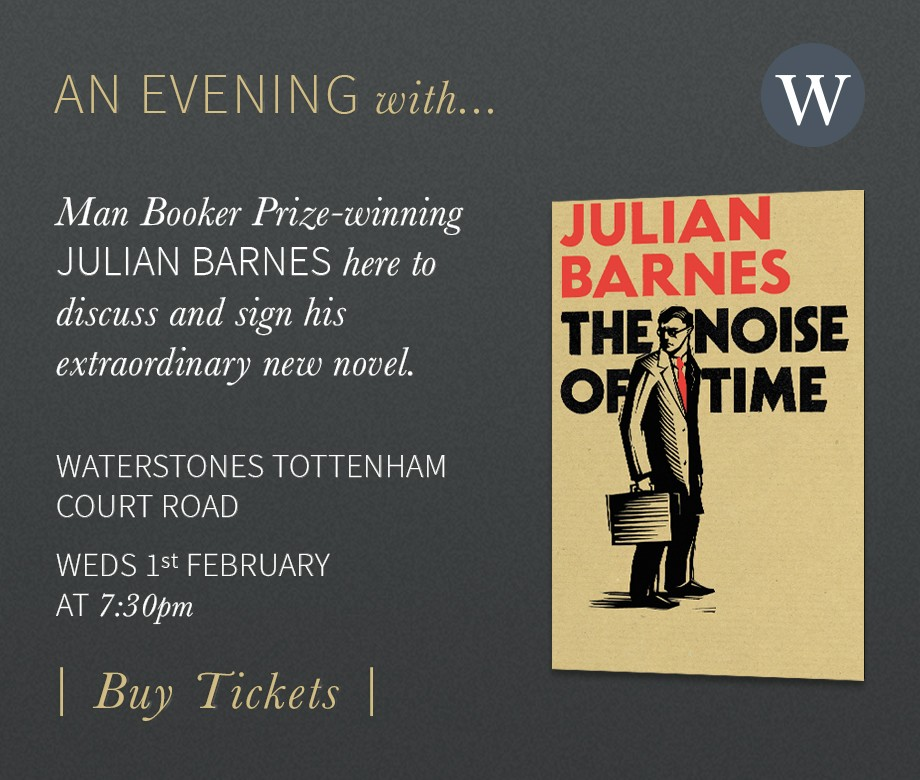 Julian Barnes Event