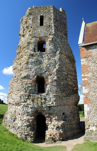 Remains of a Roman Lighthouse at Dover